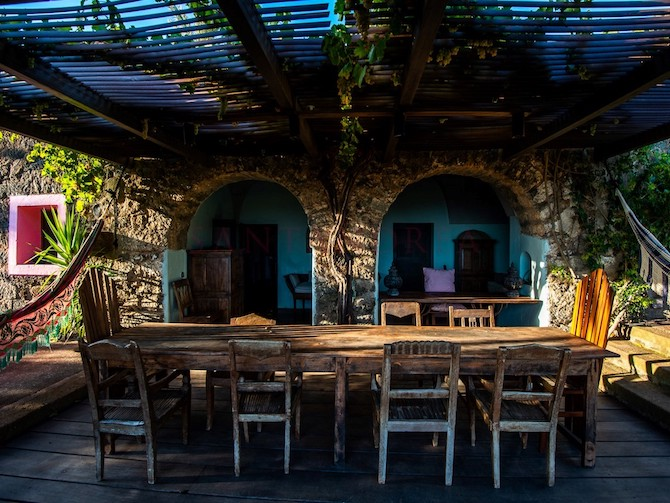 La villa di Ferri a Pantelleria