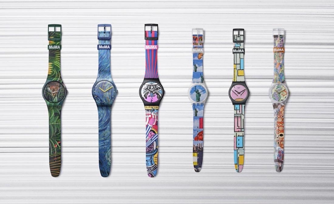 """Swatch X MoMa: """"Dalla nostra collezione alla tua"""""""