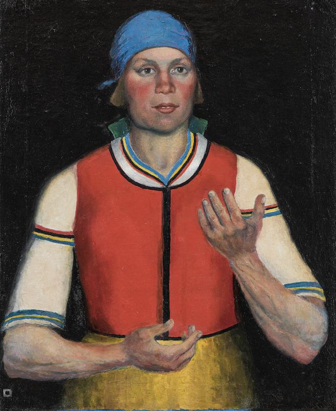 Kazimir Malevich, Operaia, 1933_© State Russian Museum, St. Petersburg