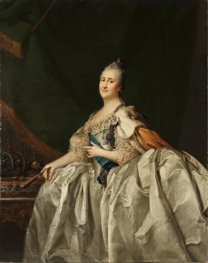 Dmitrij Levitskij, Ritratto di Caterina II, 1782_© State Russian Museum, St. Petersburg