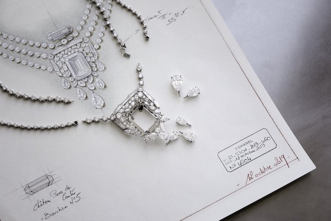 CHANEL High Jewelry, Collection N°5 collana 55.55