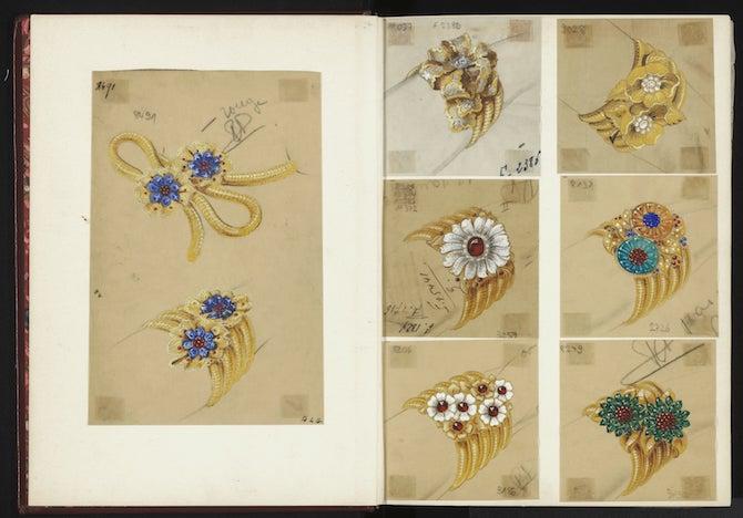 Van Cleef & Arpels Archives © Van Cleef & Arpels SA
