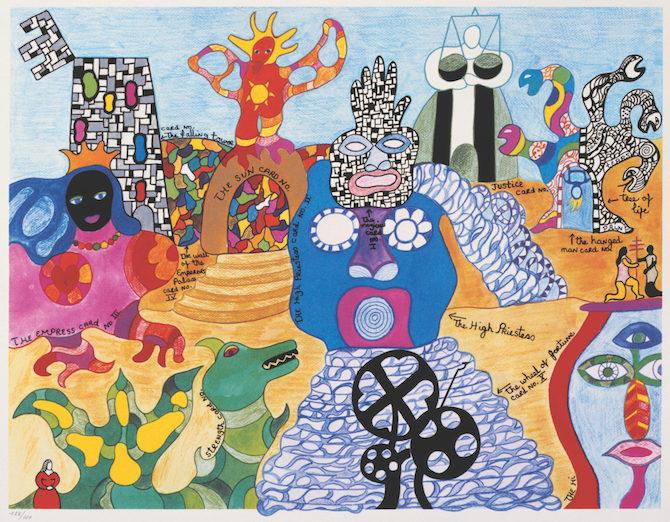 Niki de Saint Phalle. Tarot Garden. 1991. © 2020 NIKI CHARITABLE ART FOUNDATION. Photo: Ed Kessler