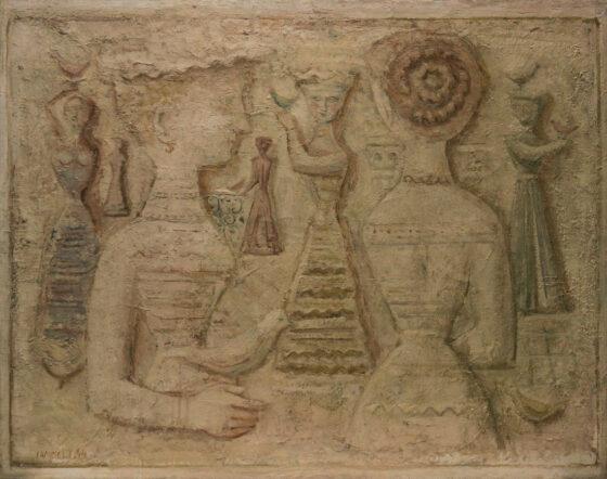 Una pagana felicità: Massimo Campigli e gli Etruschi