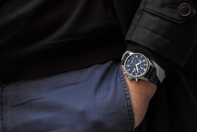 Pilot's Watch Chronograph 41, Ref. IW388101 Photo Luca Garbati copyright © The Ducker Magazine