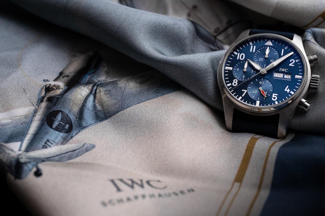 IWC Pilot's Watch Chronograph 41: calibro di manifattura