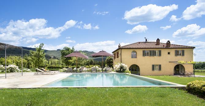 Villa Casetta, Il Borro Relais&Chateaux – Photo Credit: Francesca Pagliai