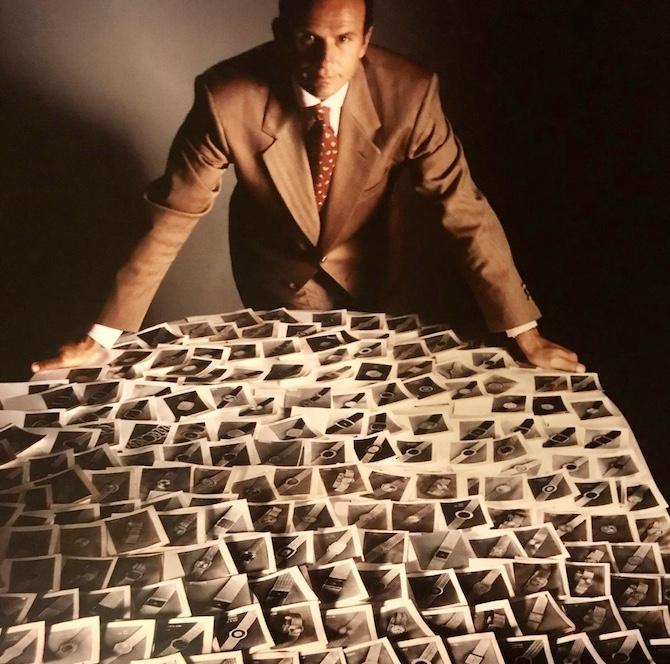 Beppe Ambrosini ritratto da Fredi Marcarini per Piaget