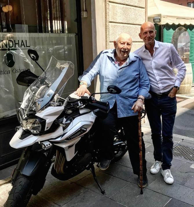 dottor Franco Cologni e il dottor Ambrosini