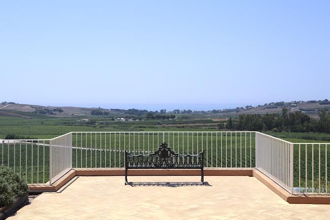 Panorama dalla terrazza