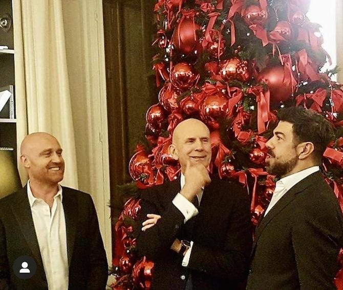 Rudy Zerbi, Pierfrancesco Favino, Beppe Ambrosini