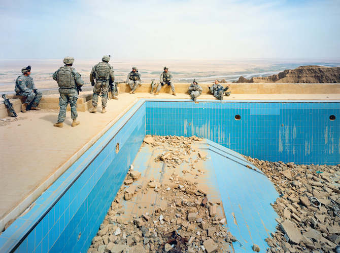 © Richard MossePool at Uday's Palace, Salah-a-Din Province, Iraq, 2009 Courtesy of the artist and Jack Shainman Gallery, New York