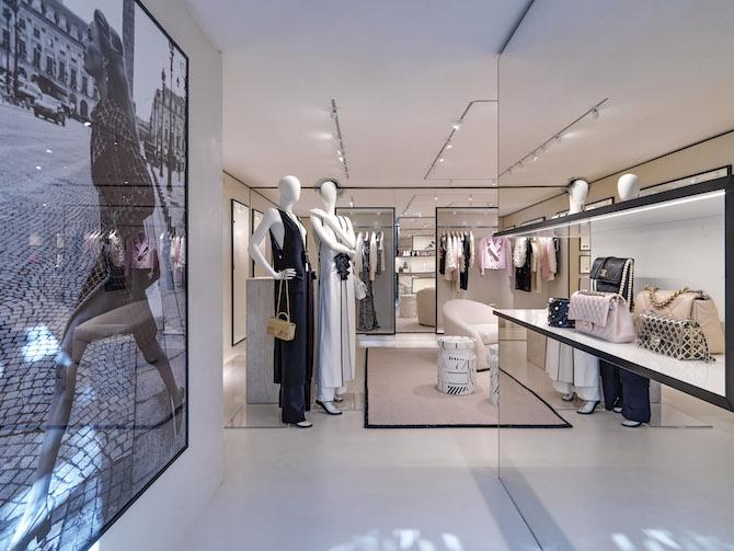 Chanel boutique Capri