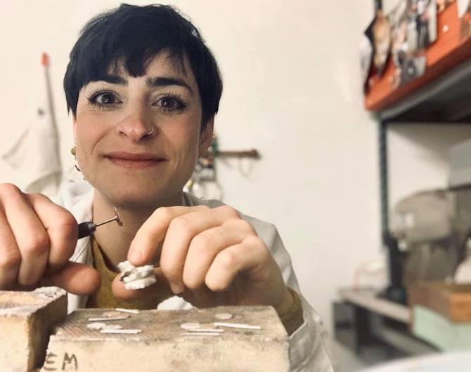 Erica Magliano, Orafa, Cava de Tirreni