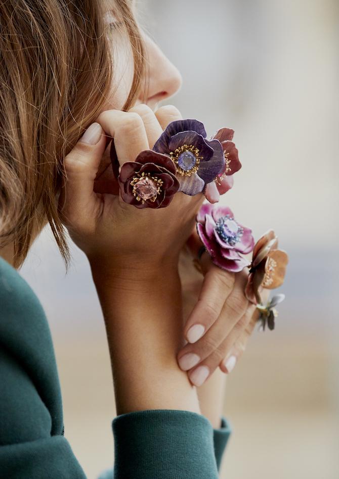 Boucheron collezione Fleurs Eternelles 2018