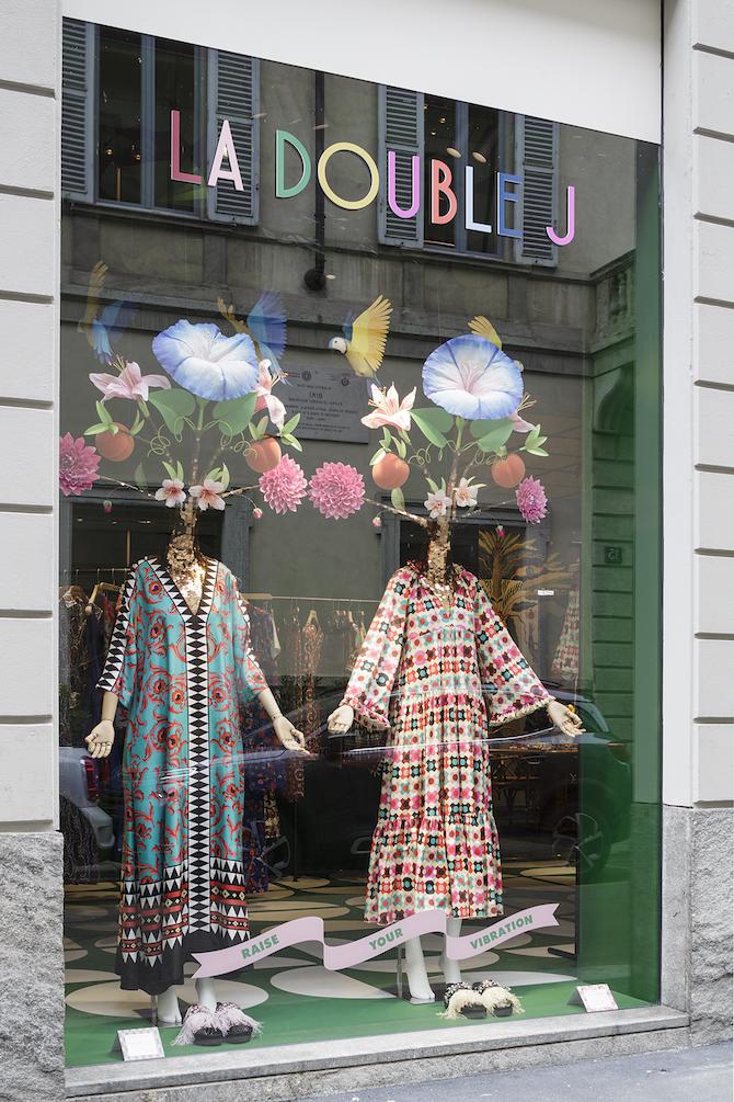 La DoubleJ Store, vetrina - Photo Credit: Filippo Bamberghi