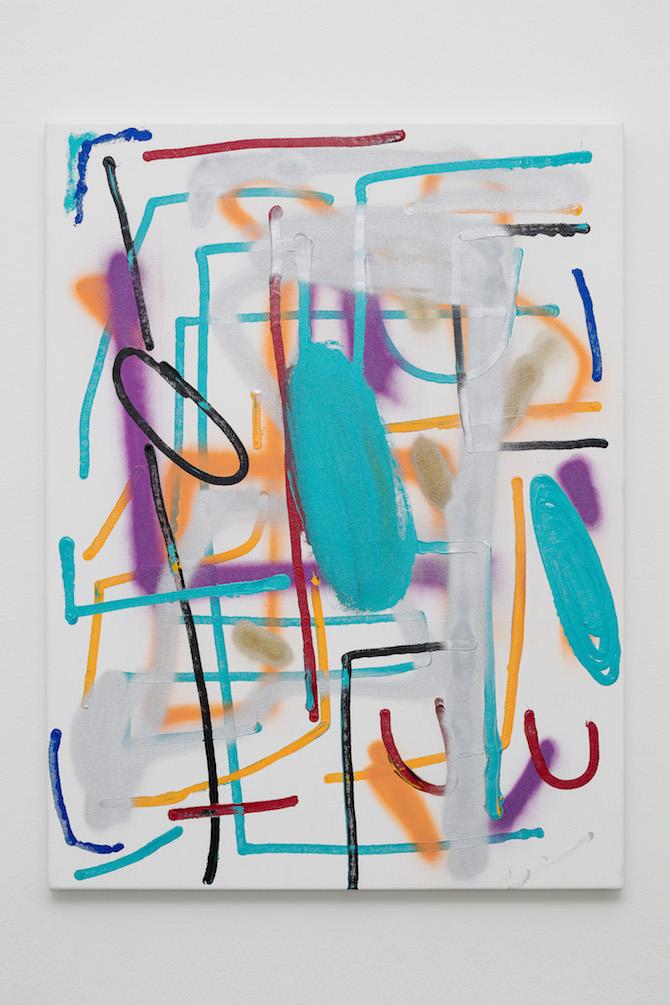 André Butzer, Untitled, 2020, Photo: Filippo Armellin
