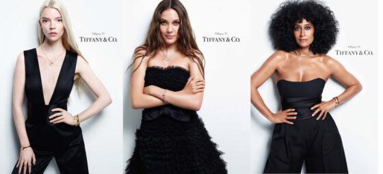 "Tre nuove global ambassadors per la campagna Tiffany t1 2021 ""give me the t"""