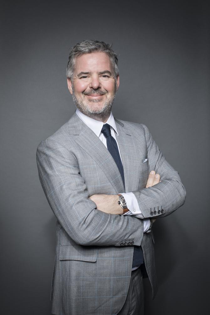 Peter Harrison, CEO, Richard Mille EMEA