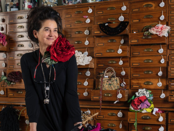 Pagliani&Brasseur di Anna Tosi: modisteria e fiori in tessuto per l'alta moda