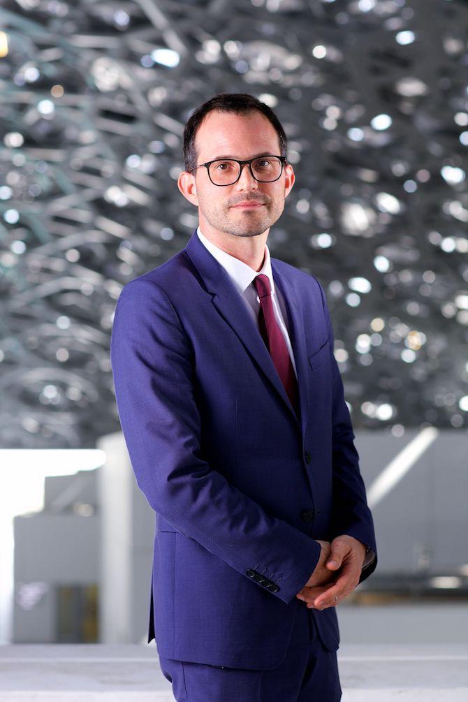 Manuel Rabate, Director of Louvre Abu Dhabi