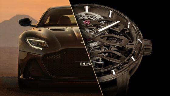 Tourbillon con Tre Ponti Volanti: partnership di lusso tra Girard Perregaux e Aston Martin