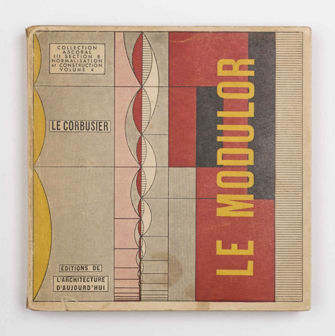 Le Corbusier Le modulor 1950, Collezione Italo Rota