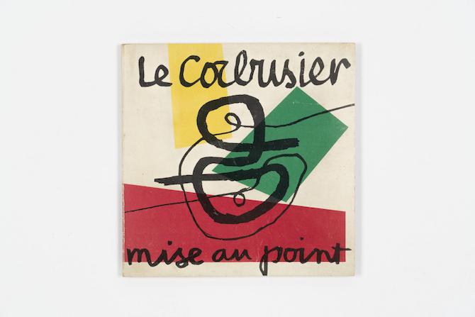 Le Corbusier Mise au point 1966_Collezione Italo Rota