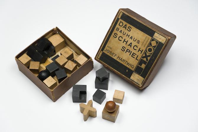 Hartwig Gli scacchi Bauhaus 1923-1924_Collezione Italo Rota