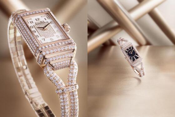 Jaeger-LeCoultre Reverso One Cordonnet Jewellery, la grazia del tempo
