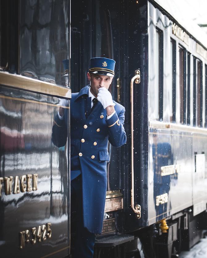 Steward del Venice Simplon Orient Express – Photo Credit: Belmond