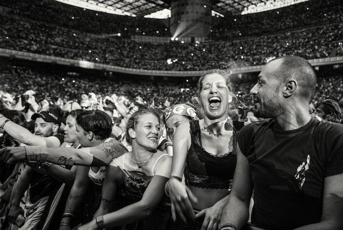 Concerto Vasco Rossi, Stadio San Siro, Milano - Photo Credit: Costantino Ruspoli