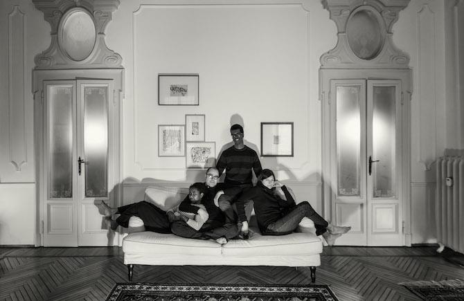 Amalia e Giovanni, con i figli Tigist e Ashenafi. Milano - Photo Credit: Costantino Ruspoli