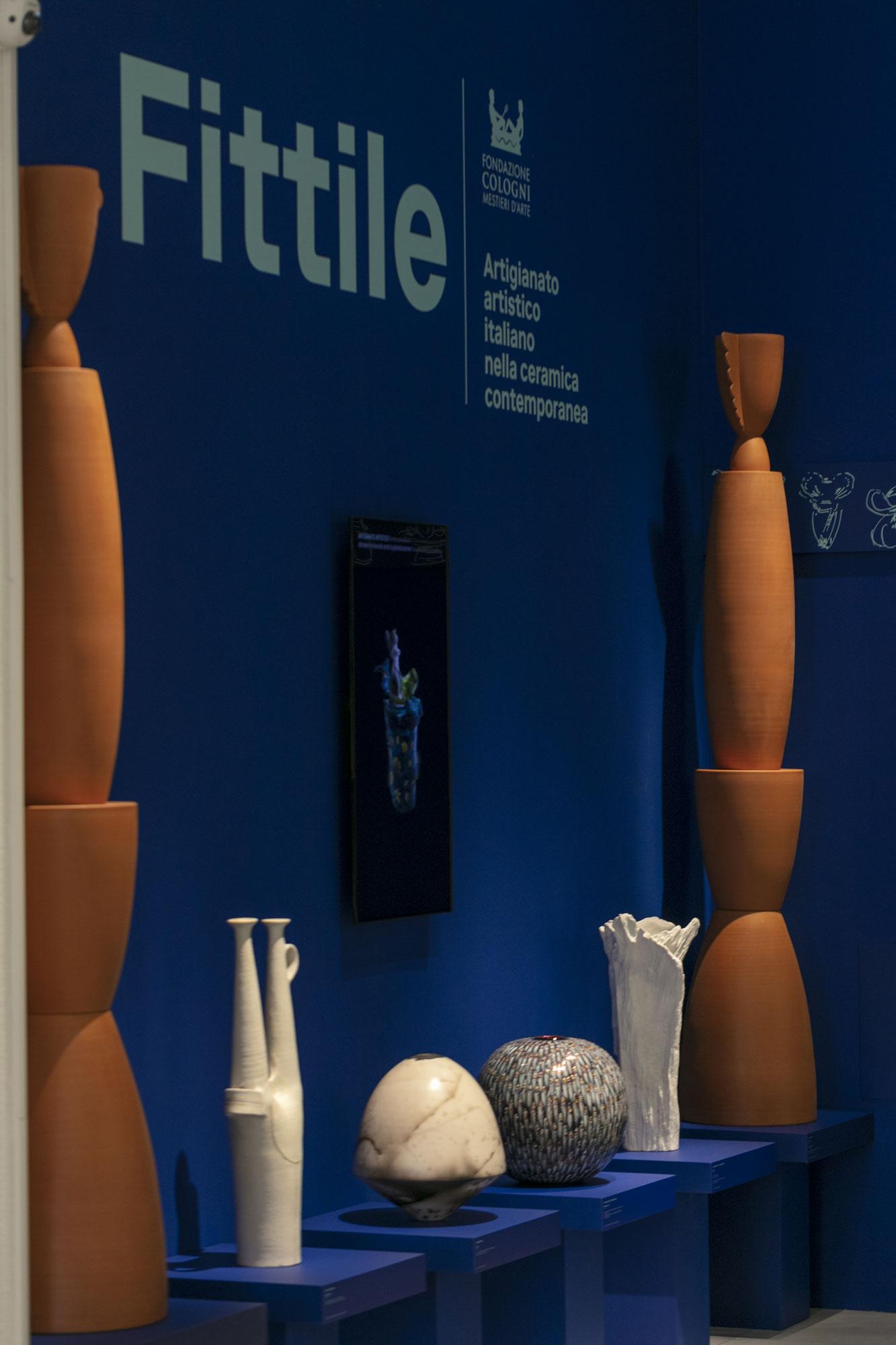La Quadreria di Triennale Milano che ospita Fittile