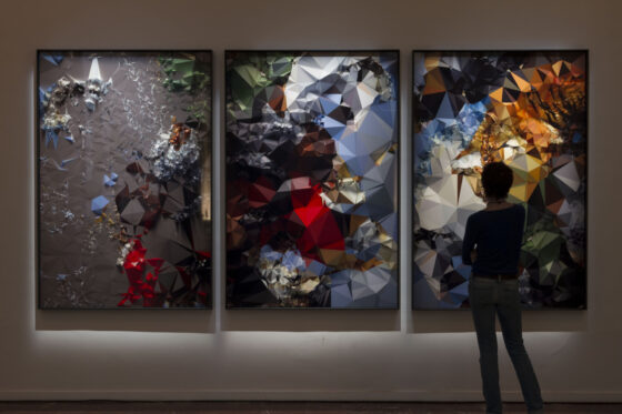Quayola Iconographies #20: Tiger Hunt after Rubens, 2014