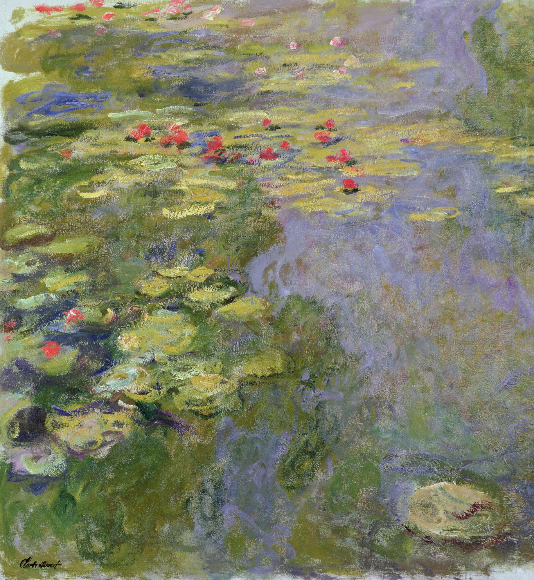 Claude Monet (1840 -1926) Lo stagno delle ninfee, 1917 -1919 circa Olio su tela, 130x120 cm Parigi