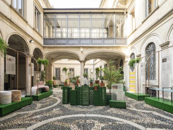 Doppia Firma 2021, Cortile d'Onore di Palazzo Morando. ®Luca Rotondo