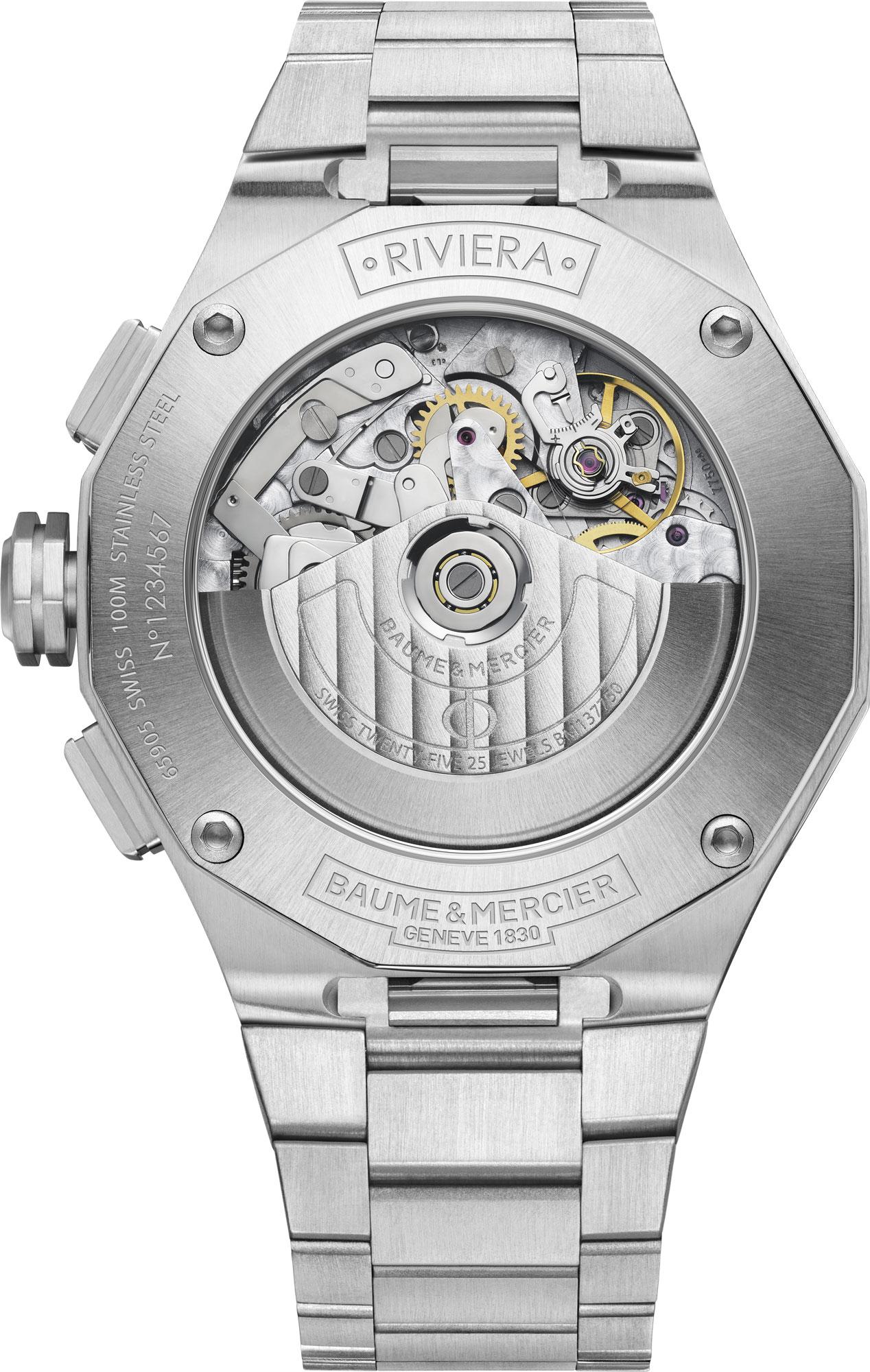 Baume & Mercier cronografo Riviera - Ref. M0A10624