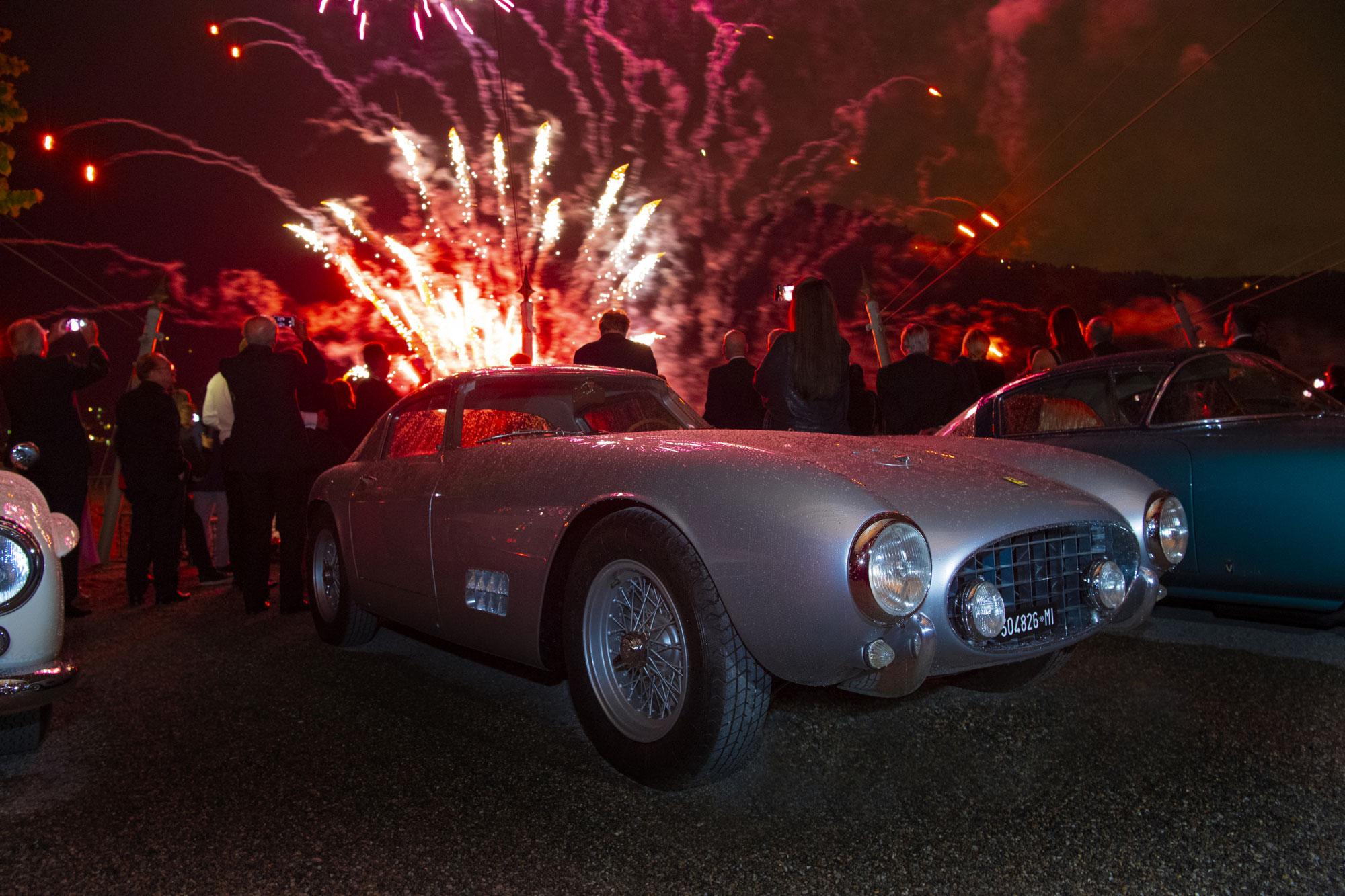 """La celebrazione del vincitore del """"Trofeo Best of Show"""" si è tenuta domenica sera. A trionfare la Ferrari 250 GT TDF di proprietà dell'americano Brian Ross."""
